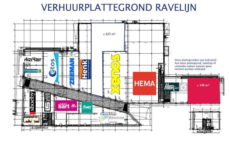 Plattegrond WC Ravelijn Zeewolde 1