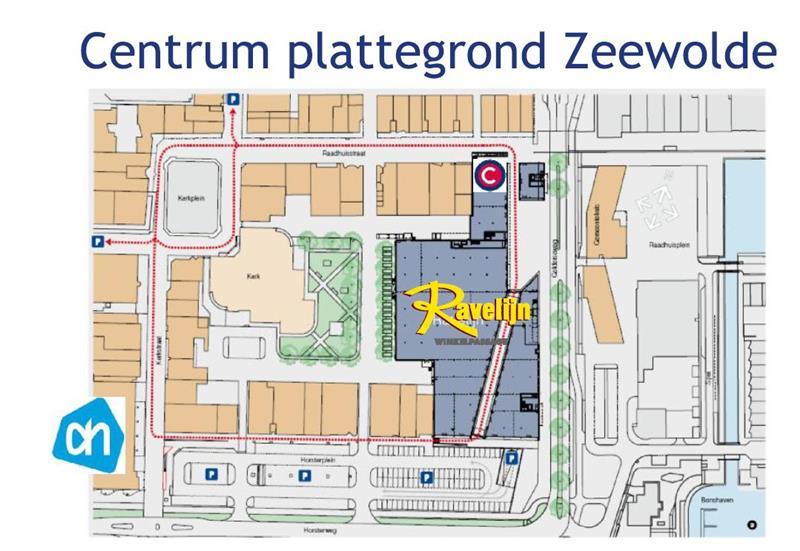 Plattegrond WC Ravelijn Zeewolde